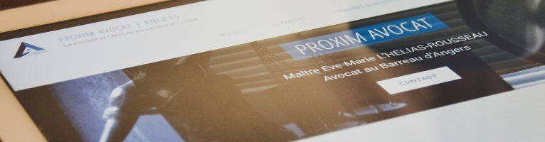 Lancement du site Internet Proxim Avocat